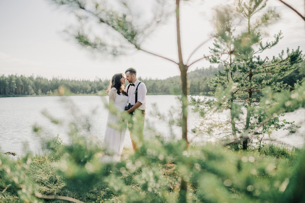 Wedding in forest, Finland, Andrew Suhinin photographer, #4974
