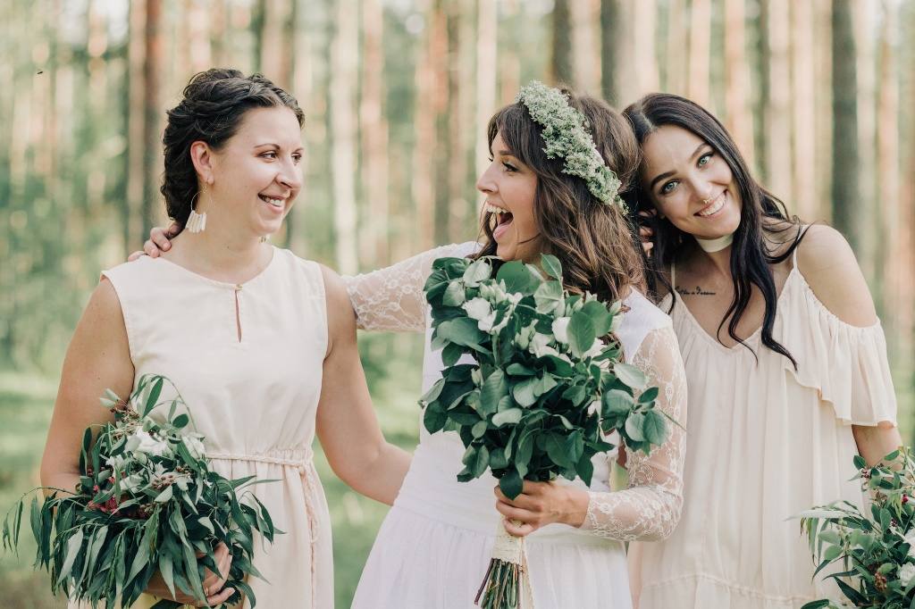 Wedding in forest, Finland, Andrew Suhinin photographer, #4953