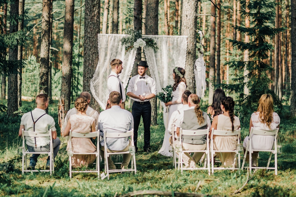 Wedding in forest, Finland, Andrew Suhinin photographer, #4963