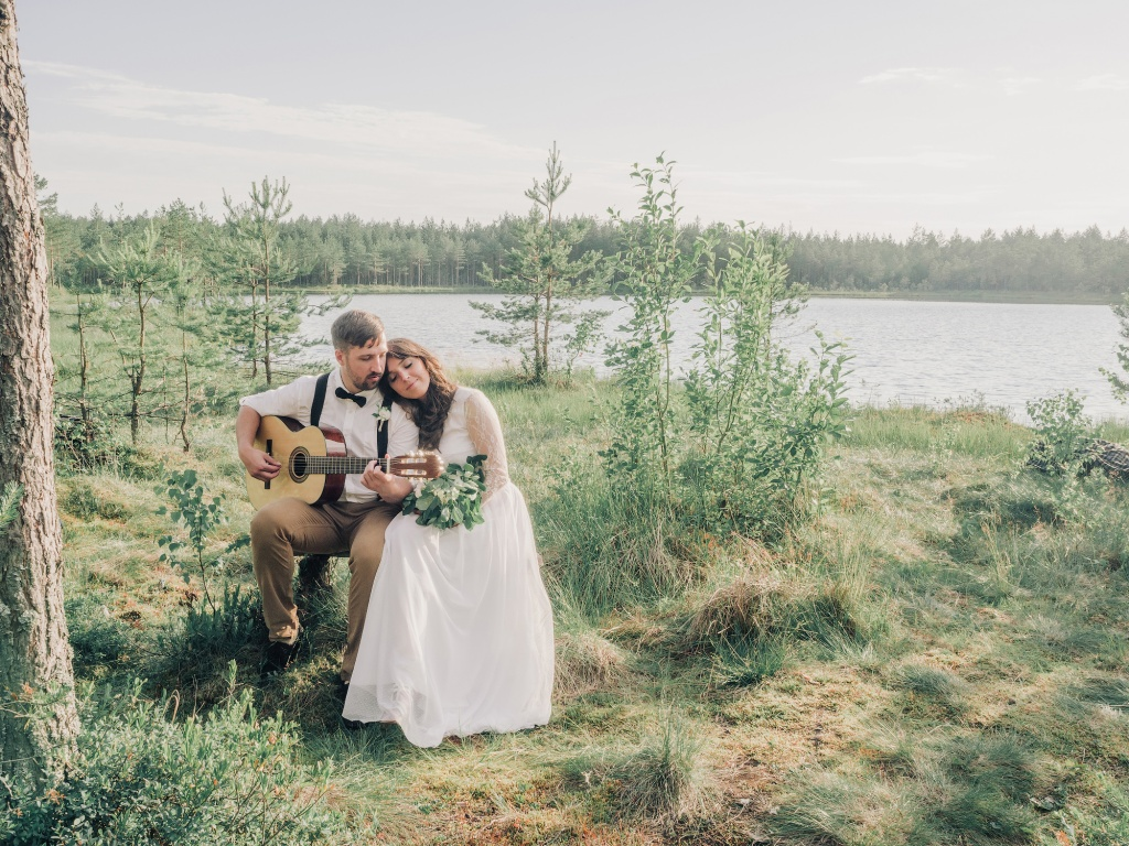 Wedding in forest, Finland, Andrew Suhinin photographer, #4978
