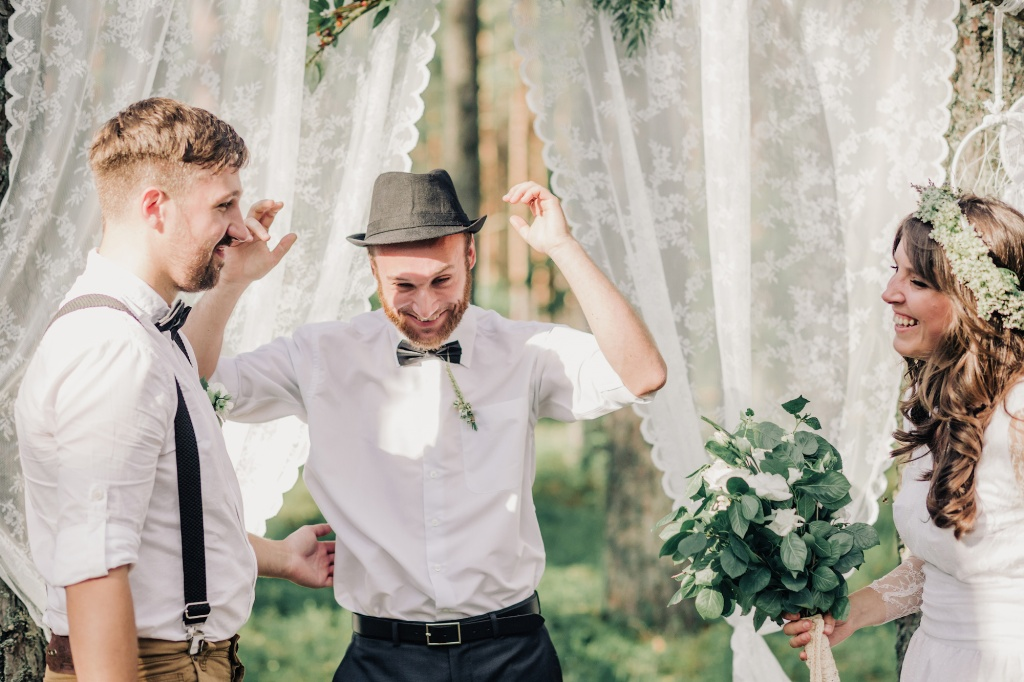 Wedding in forest, Finland, Andrew Suhinin photographer, #4966