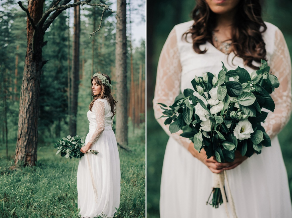 Wedding in forest, Finland, Andrew Suhinin photographer, #4948