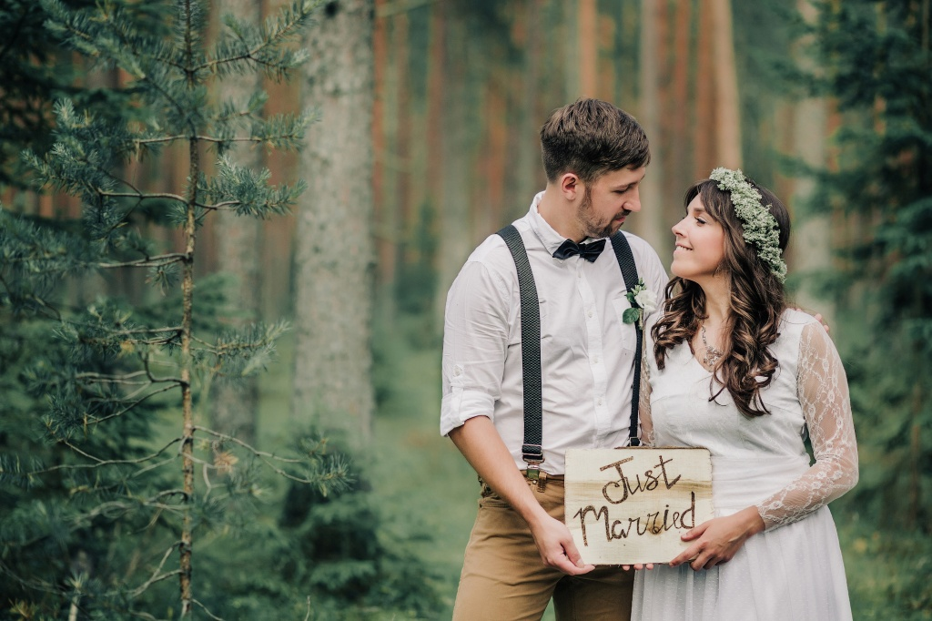 Wedding in forest, Finland, Andrew Suhinin photographer, #4946