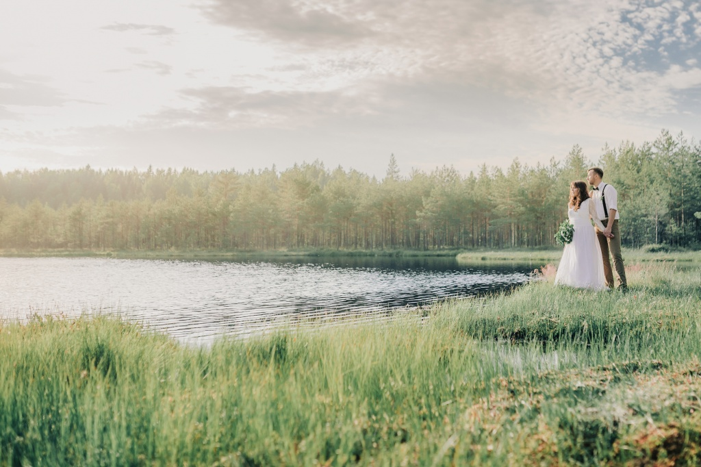 Wedding in forest, Finland, Andrew Suhinin photographer, #4976