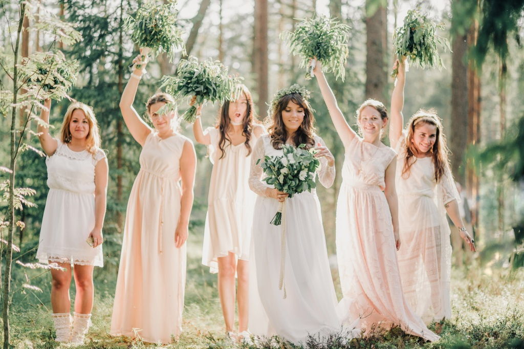 Wedding in forest, Finland, Andrew Suhinin photographer, #4969