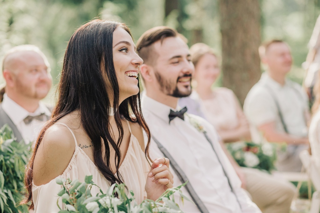 Wedding in forest, Finland, Andrew Suhinin photographer, #4965