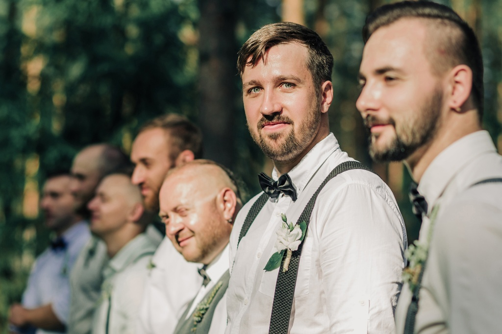 Wedding in forest, Finland, Andrew Suhinin photographer, #4950