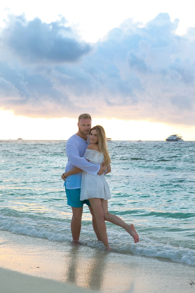 Marita and Stepan, Maldives, Irina  photographer, #12188
