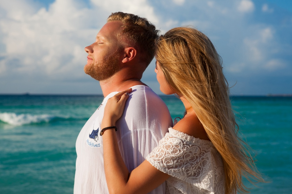 Marita and Stepan, Maldives, Irina  photographer, #12171