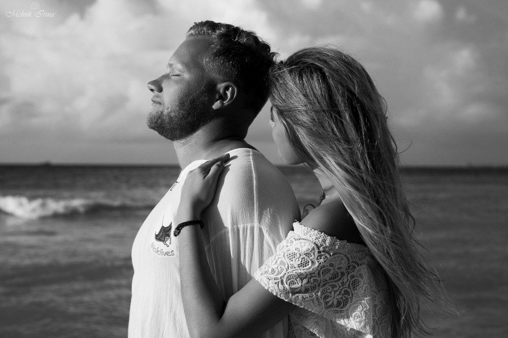 Marita and Stepan, Maldives, Irina  photographer, #12201