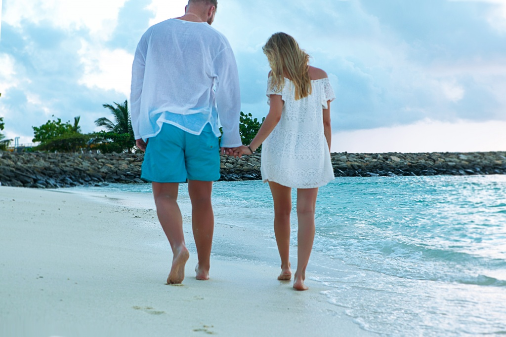 Marita and Stepan, Maldives, Irina  photographer, #12191