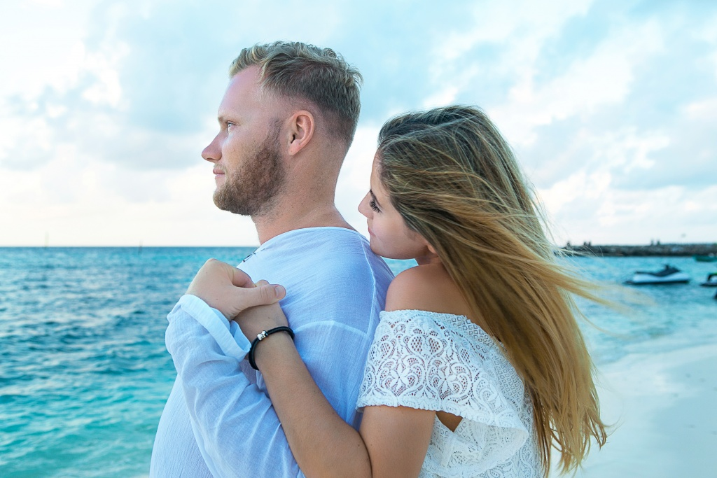 Marita and Stepan, Maldives, Irina  photographer, #12193