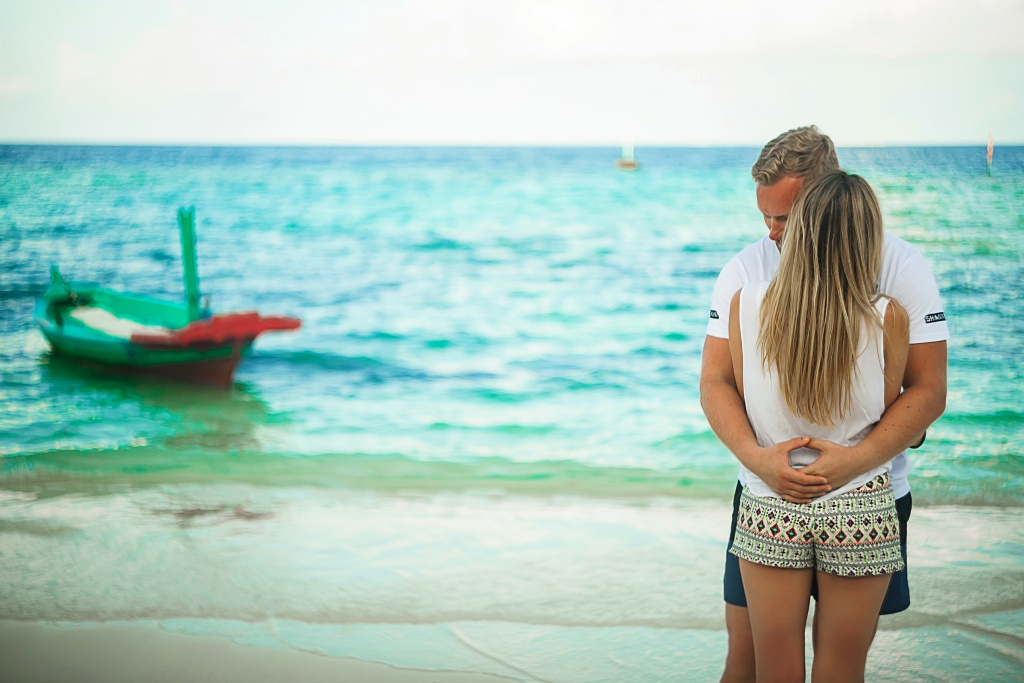 Marita and Stepan, Maldives, Irina  photographer, #12204