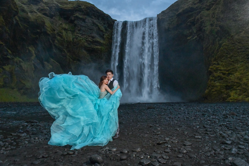 Iceland waterfall shoot
