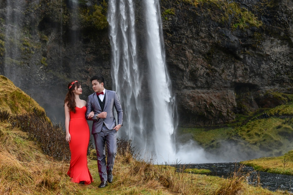 Love story Iceland