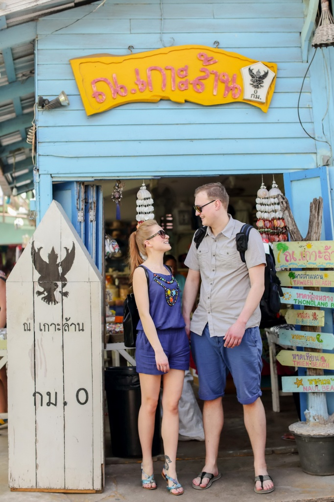 Larn Island (Pattaya) honeymoon photoshoot, Thailand, Surasart Areear photographer, #17002