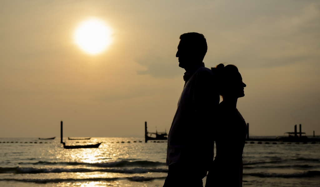 Larn Island (Pattaya) honeymoon photoshoot, Thailand, Surasart Areear photographer, #17017