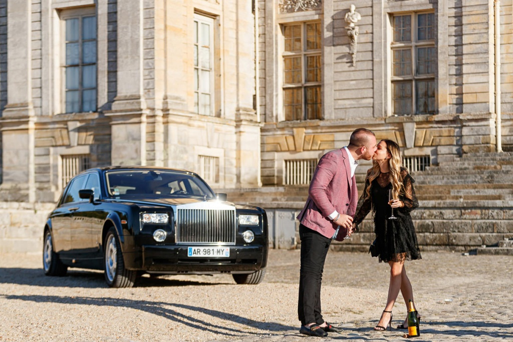 Chateau Vaux-le-Vicomte Luxury Proposal, France, Adagion Studio photographer, #17814