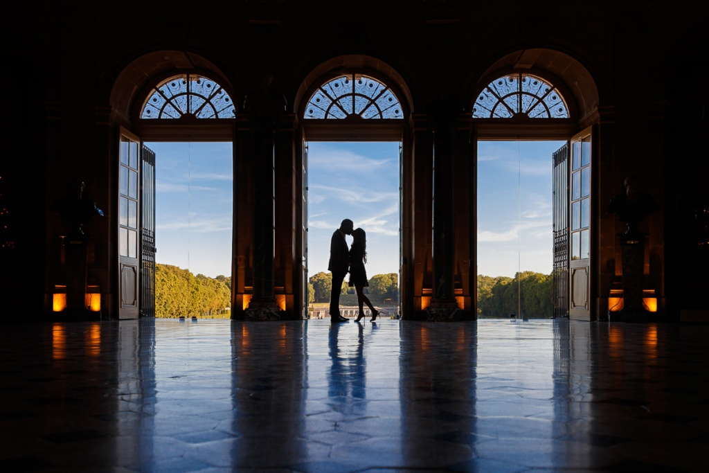 Chateau Vaux-le-Vicomte Luxury Proposal, France, Adagion Studio photographer, #17816