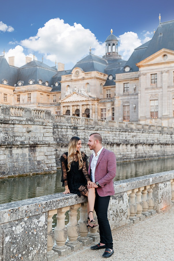 Chateau Vaux-le-Vicomte Luxury Proposal, France, Adagion Studio photographer, #17811
