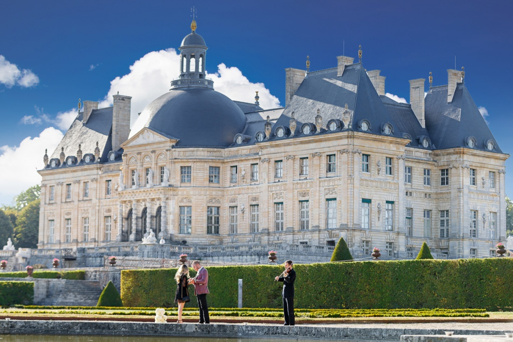 Chateau Vaux-le-Vicomte Luxury Proposal, France, Adagion Studio photographer, #17798