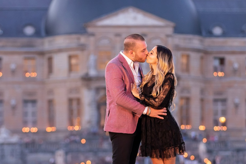 Chateau Vaux-le-Vicomte Luxury Proposal, France, Adagion Studio photographer, #17818