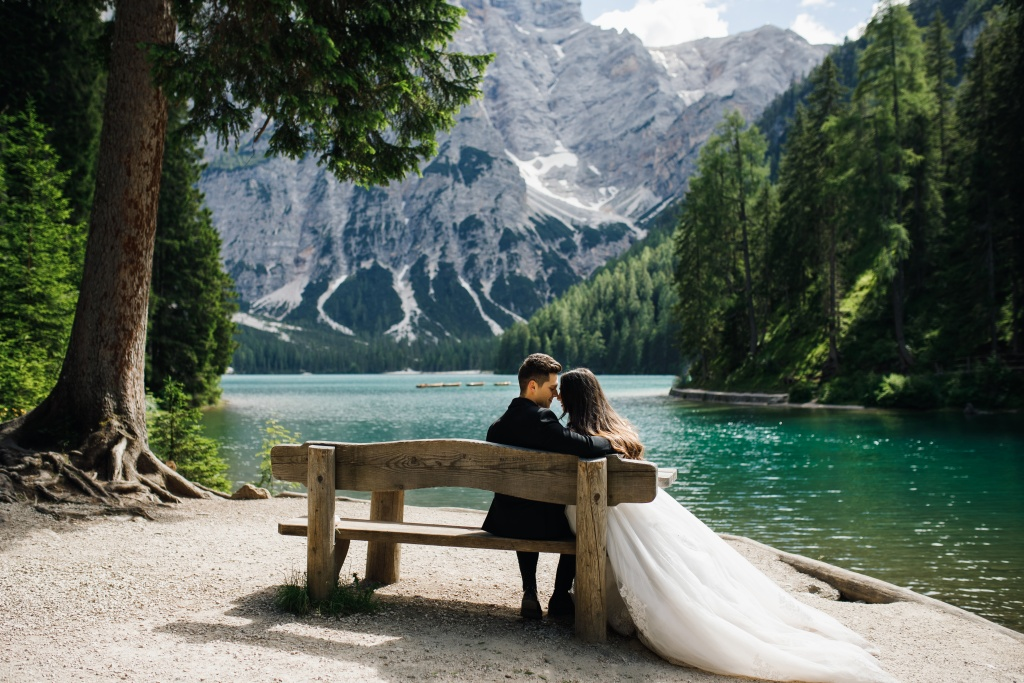 Wedding Lago di Braies, Italy