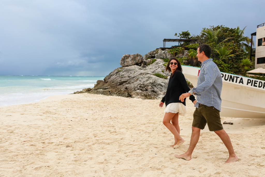 Engagement In Tulum, Cancun , Valeria Figueroa photographer, #19137