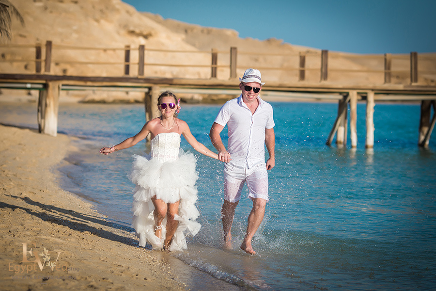 """Pearl Island"" Wedding ceremony on an island in Egypt, Red Sea, Hurghada., Egypt, Svetlana Aied photographer, #22959"