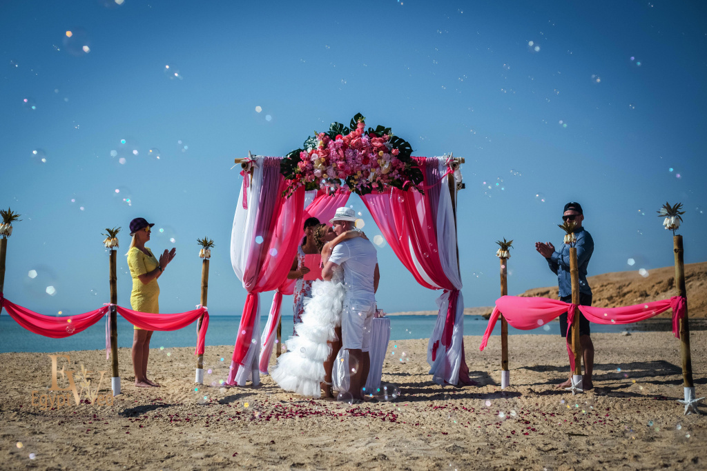 """Pearl Island"" Wedding ceremony on an island in Egypt, Red Sea, Hurghada., Egypt, Svetlana Aied photographer, #22971"