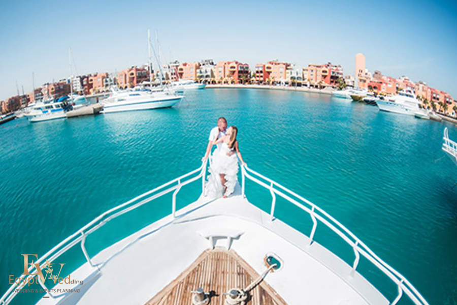 """Pearl Island"" Wedding ceremony on an island in Egypt, Red Sea, Hurghada., Egypt, Svetlana Aied photographer, #22958"