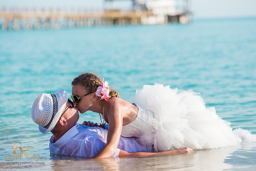 """Pearl Island"" Wedding ceremony on an island in Egypt, Red Sea, Hurghada., Egypt, Svetlana Aied photographer, #22953"