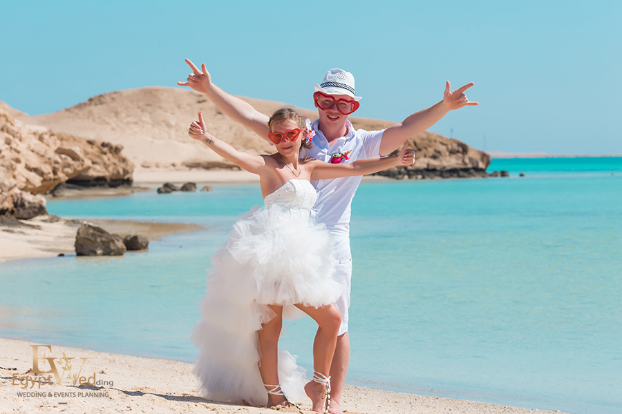 """Pearl Island"" Wedding ceremony on an island in Egypt, Red Sea, Hurghada., Egypt, Svetlana Aied photographer, #22963"