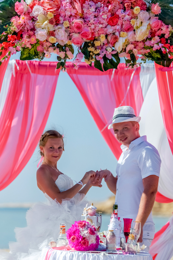 """Pearl Island"" Wedding ceremony on an island in Egypt, Red Sea, Hurghada., Egypt, Svetlana Aied photographer, #22980"