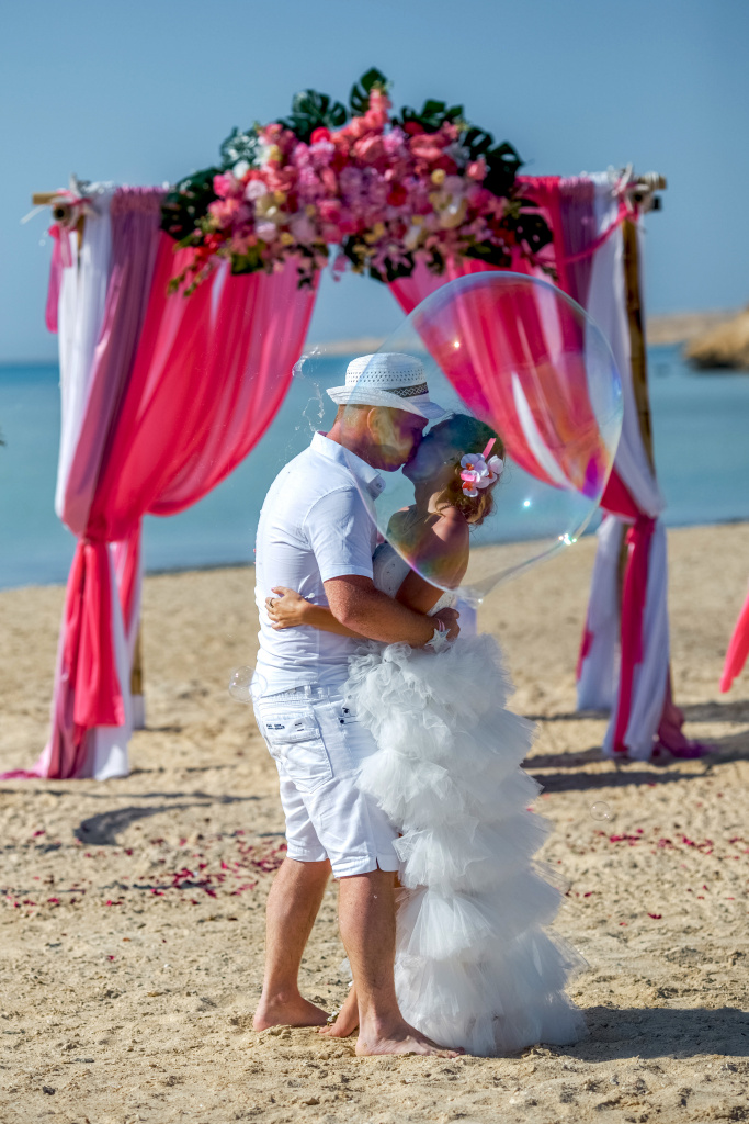 """Pearl Island"" Wedding ceremony on an island in Egypt, Red Sea, Hurghada., Egypt, Svetlana Aied photographer, #22979"