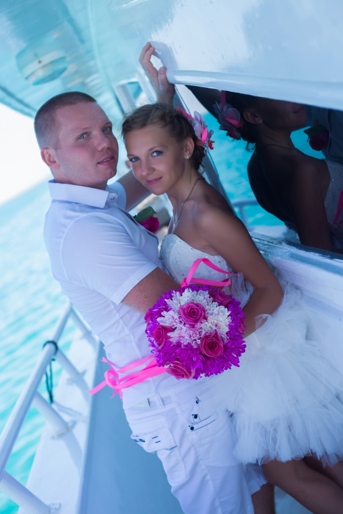 """Pearl Island"" Wedding ceremony on an island in Egypt, Red Sea, Hurghada., Egypt, Svetlana Aied photographer, #22976"