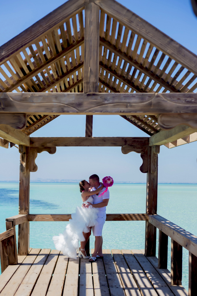 """Pearl Island"" Wedding ceremony on an island in Egypt, Red Sea, Hurghada., Egypt, Svetlana Aied photographer, #22985"