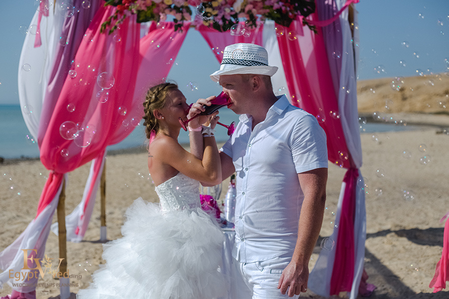 """Pearl Island"" Wedding ceremony on an island in Egypt, Red Sea, Hurghada., Egypt, Svetlana Aied photographer, #22964"