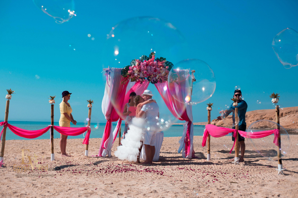 """Pearl Island"" Wedding ceremony on an island in Egypt, Red Sea, Hurghada., Egypt, Svetlana Aied photographer, #22967"