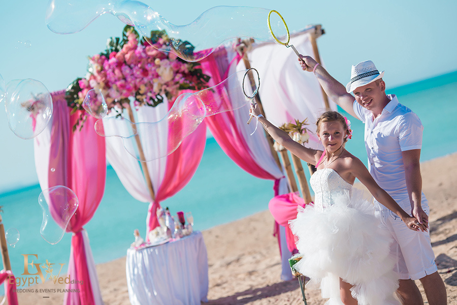 """Pearl Island"" Wedding ceremony on an island in Egypt, Red Sea, Hurghada., Egypt, Svetlana Aied photographer, #22956"