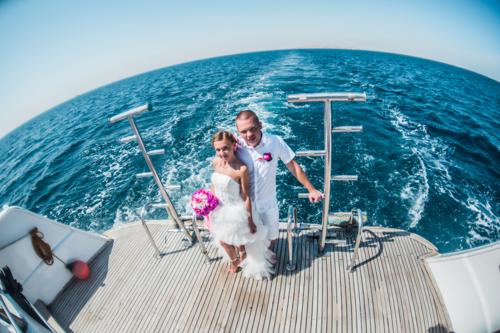 """Pearl Island"" Wedding ceremony on an island in Egypt, Red Sea, Hurghada., Egypt, Svetlana Aied photographer, #22975"