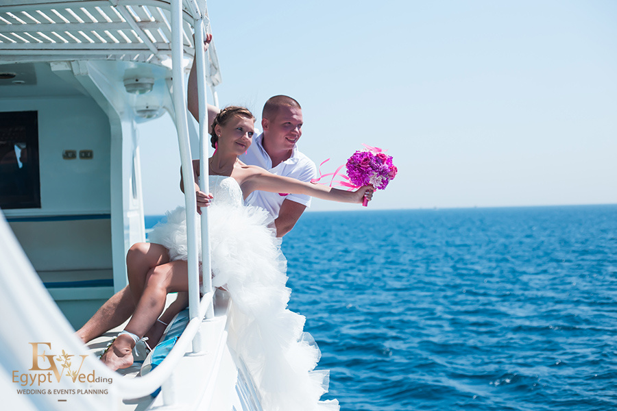 """Pearl Island"" Wedding ceremony on an island in Egypt, Red Sea, Hurghada., Egypt, Svetlana Aied photographer, #22965"