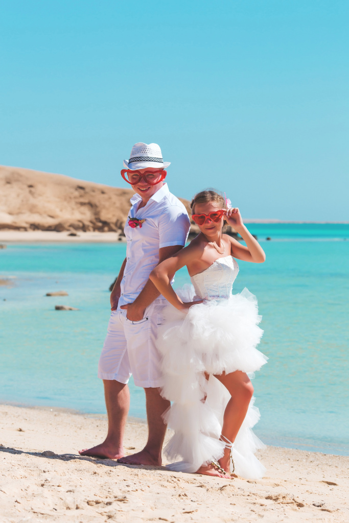 """Pearl Island"" Wedding ceremony on an island in Egypt, Red Sea, Hurghada., Egypt, Svetlana Aied photographer, #22977"
