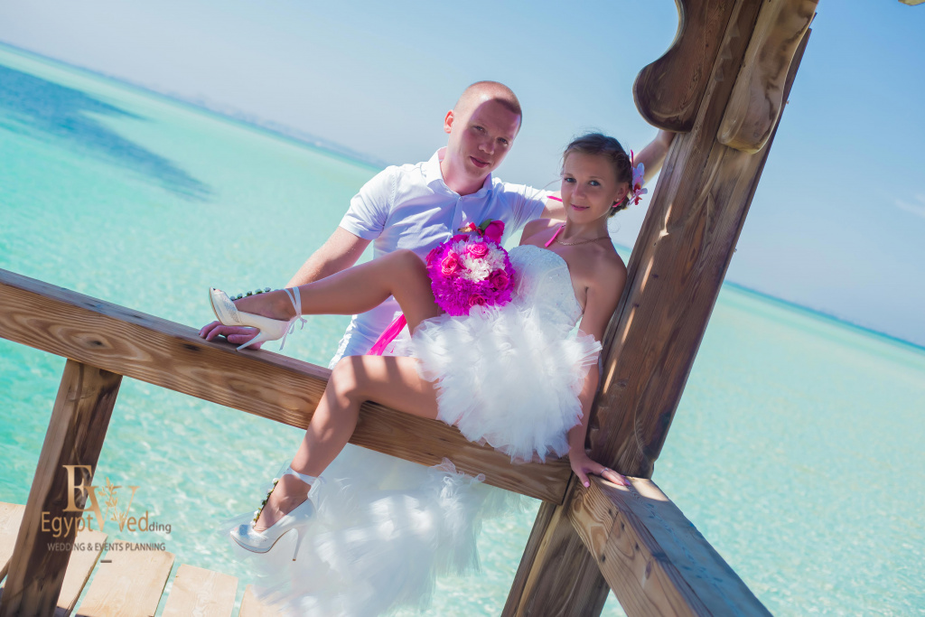 """Pearl Island"" Wedding ceremony on an island in Egypt, Red Sea, Hurghada., Egypt, Svetlana Aied photographer, #22970"