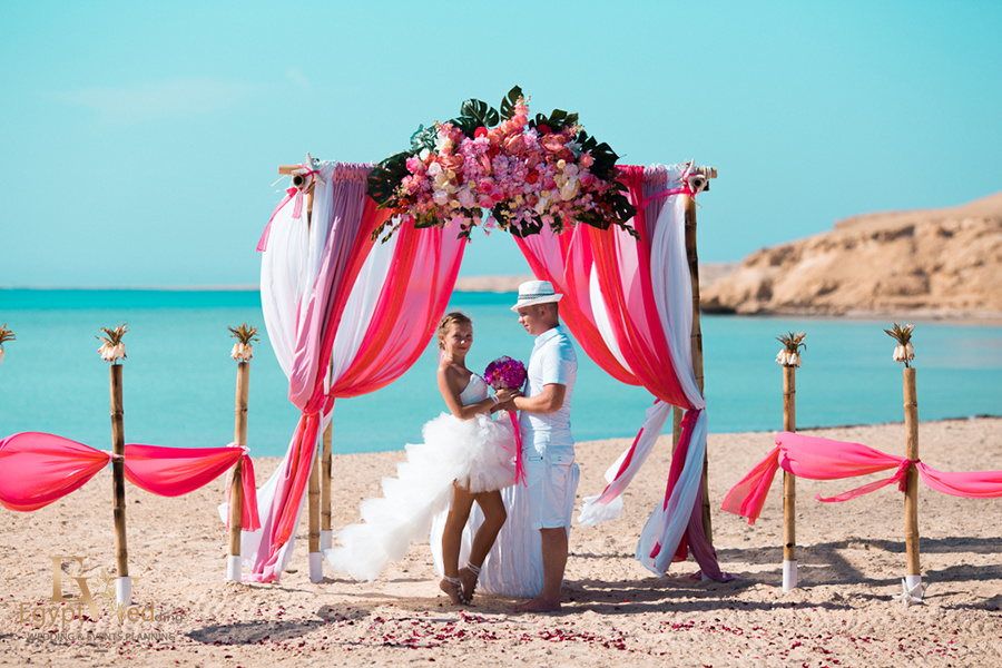 """Pearl Island"" Wedding ceremony on an island in Egypt, Red Sea, Hurghada., Egypt, Svetlana Aied photographer, #22960"