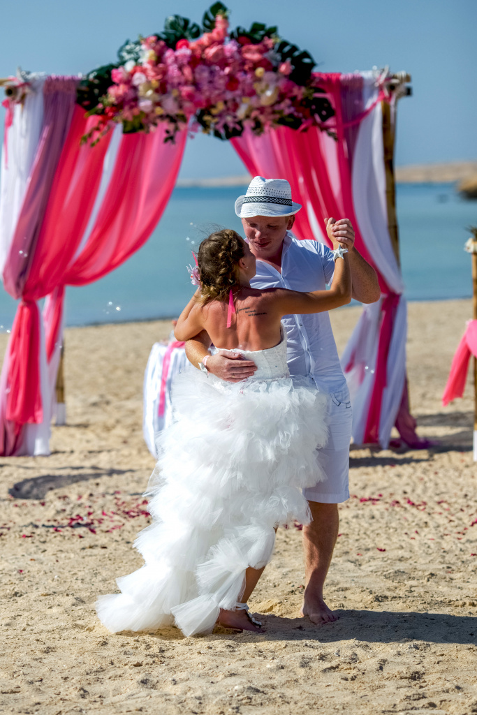 """Pearl Island"" Wedding ceremony on an island in Egypt, Red Sea, Hurghada., Egypt, Svetlana Aied photographer, #22978"