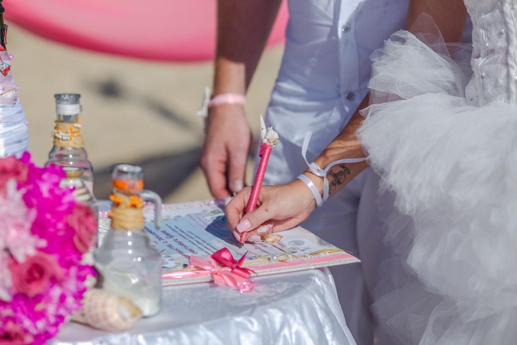 """Pearl Island"" Wedding ceremony on an island in Egypt, Red Sea, Hurghada., Egypt, Svetlana Aied photographer, #22982"