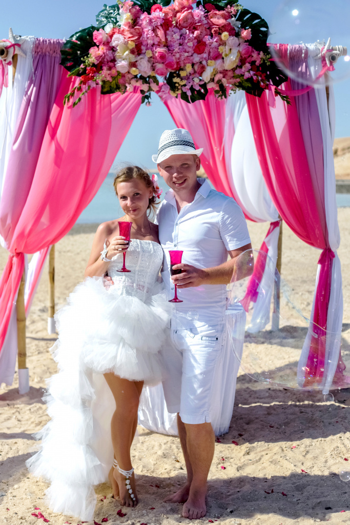 """Pearl Island"" Wedding ceremony on an island in Egypt, Red Sea, Hurghada., Egypt, Svetlana Aied photographer, #22983"