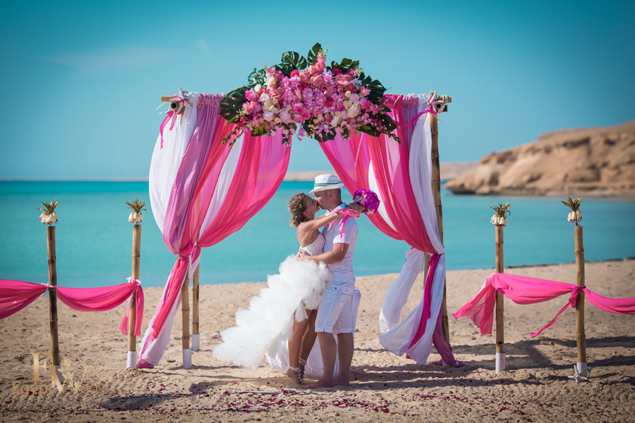 """Pearl Island"" Wedding ceremony on an island in Egypt, Red Sea, Hurghada., Egypt, Svetlana Aied photographer, #22973"