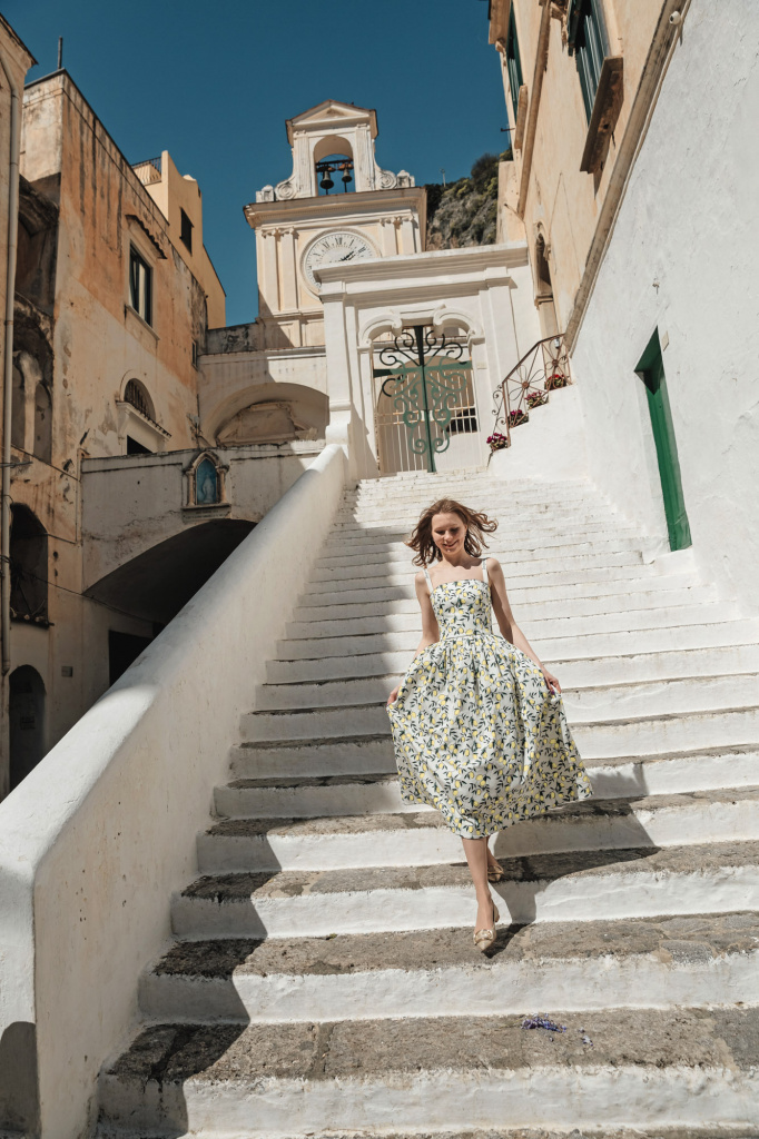 Individul photo shoot in Amalfi